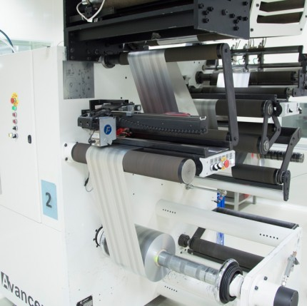 Installation of a new slitting machine