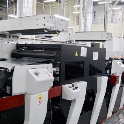 Installation of a new printing machine
